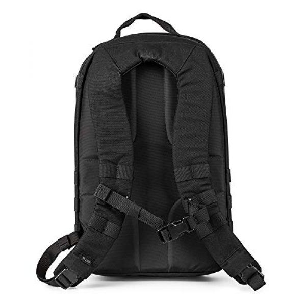 5.11 Tactical Backpack 4 5.11 Tactical TAC Essential Backpack, 25 Liters, 1050D Nylon, Style 56643