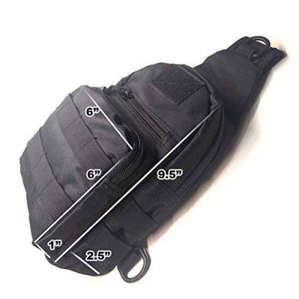 Avias Knife Supply Tactical Backpack 2 Shoulder Chest Sling EDC Bag (Sling Bag with Small Kit Set)