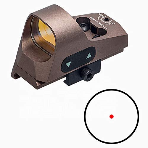 UELEGANS Rifle Scope 2 UELEGANS Red Dot Sight 9 BrightnessReflex Sight Red Dot Scope Sights for 20mm Mount for Outdoor Hunting