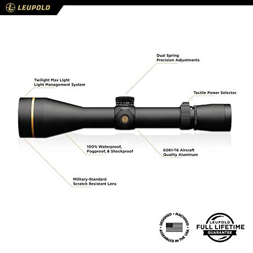 Leupold Rifle Scope 2 Leupold VX-3i 4.5-14x50mm Side Focus Riflescope, 30mm Side Focus - Duplex (170709) (170709)