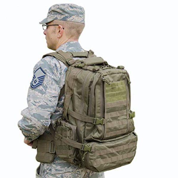 """Explorer Tactical Backpack 1 Explorer 22"""" Waist Gun PouchesTactical Backpack"""