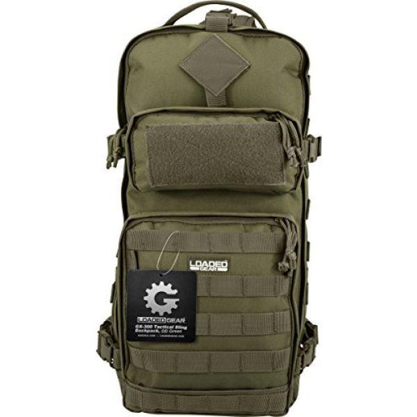 BARSKA Tactical Backpack 3 BARSKA Loaded Gear GX-300 Tactical Sling Backpack
