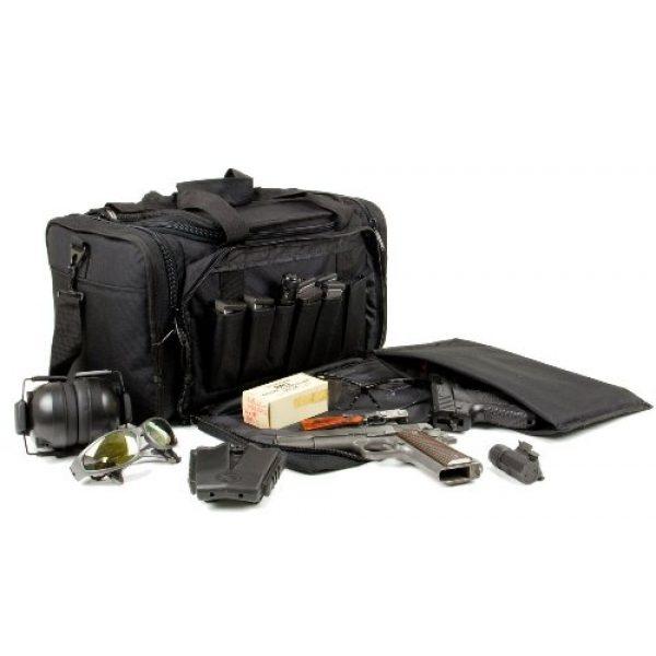 Explorer Tactical Backpack 7 EXPLORER Backpack + Range Bag with Large Padded Deluxe Tactical Divider and 9 Clip Mag Holder - Rangemaster Gear Bag (Brown Tan Range Bag)