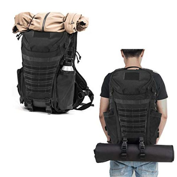 DIGBUG Tactical Backpack 5 DIGBUG Military Tactical Backpack Army 3 Day Assault Pack Bag Rucksack w/Rain Cover Outdoor Hiking Camping Backpack