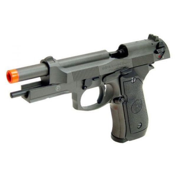 HFC Airsoft Pistol 3 HFC full metal gas powered blowback airsoft pistol m9 with gun case new 320 fps(Airsoft Gun)