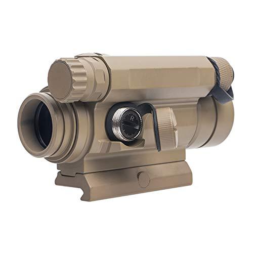 UELEGANS Rifle Scope 3 UELEGANS Red Dot Sight, M2 Hunting Riflescope Sight Red Green Dot Rifle Scope Riflescope for 20mm Rail