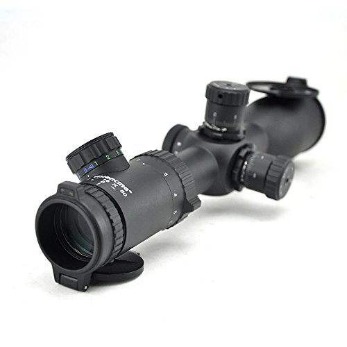 Visionking Rifle Scope 3 Visionking 2-16x50 Rifle Scope 30mm Tube 0.1 mil for Hunting Tactical Competition