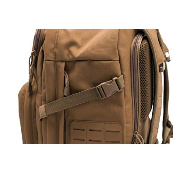 LA Police Gear Tactical Backpack 5 LA Police Gear Atlas 24H MOLLE Tactical Backpack for Hiking, Rucksack, Bug Out, or Hunting