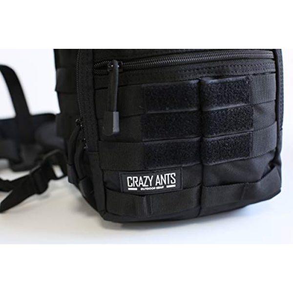 CRAZY ANTS Tactical Backpack 5 Crazy Ants Tactical Sling Bag Rover Molle Pack Shoulder Sling Backpack for Man