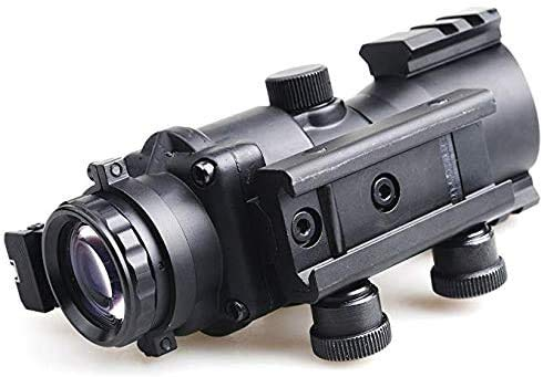 Sniper Rifle Scope 4 Sniper Prism Scope 4X 32mm Red/Green/Blue Illuminated Reticle