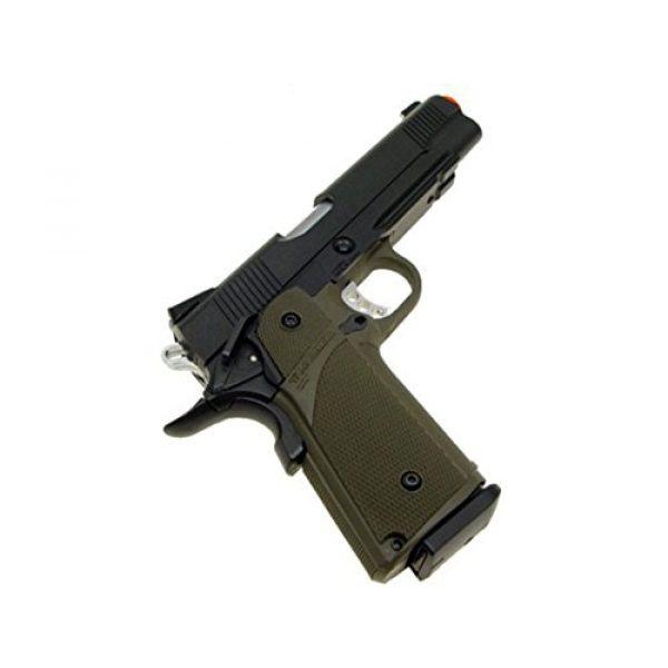 KJW Airsoft Pistol 4 gbb-615g - KJW full metal semi auto gas blowback pistol with free target trip tent(Airsoft Gun)