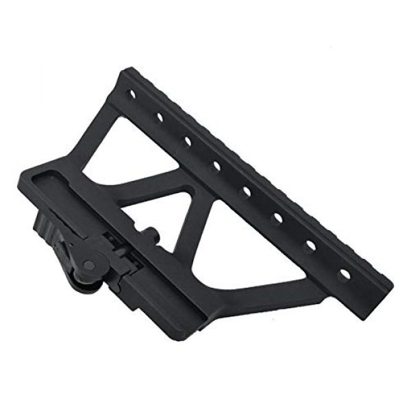DJym Rifle Scope Mount 4 DJym Scope Universal Side Rail Aluminum Alloy 20Mm Suitable for All Kinds of Sights Rail