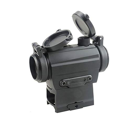 DJym Rifle Scope 5 DJym Red Dot Button Sight, Rifle Scope for Hunting Game Nitrogen-Filled Waterproof and Anti-Fog