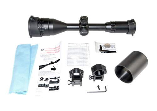 Eastvale Rifle Scope 2 Eastvale 3-9X50 Hunting Rifle Scope with Illuminated Mil-Dot Reticle, Picatinny Mount Rings and Sunshade