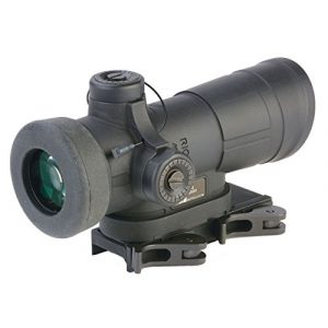 Meprolight Rifle Scope 1 Meprolight Mepro 4X-SHO Day Scope with x4 Magnification Horseshoe Reticle w/BDC
