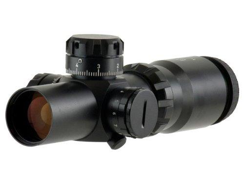 Valdada Rifle Scope 2 1:4x32 QR-TS Pitbull 35mm Tactical Compact Illuminated CQB Reticule