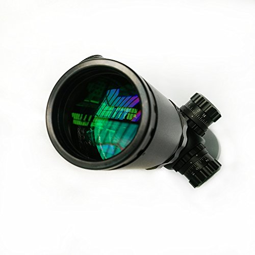 SECOZOOM Rifle Scope 5 Optics Secozoom 2-20x44 with Scope Flip Covers Holographic Sight Rifle Scope for .300winmag.