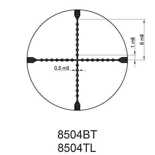 TRUGLO Rifle Scope 4 TRUGLO TRU-Brite Xtreme 4 X 32mm Compact Rifle Scope