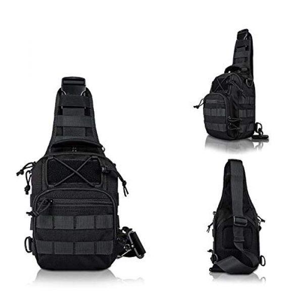 HAOMUK Tactical Backpack 3 HAOMUK Outdoor Tactical Backpack,Military Sport Bag Pack Shoulder Backpack