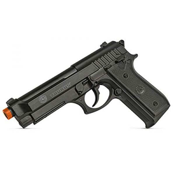 Taurus Airsoft Pistol 3 Taurus PT92 CO2 Airsoft Pistol with Hop-Up, 377 FPS, Black, 1.9 pounds (210308)