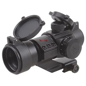 TAC Vector Optics Rifle Scope 1 TAC Vector Optics Stinger 1x28 Red Dot Scope with Cantilever Weaver Mount
