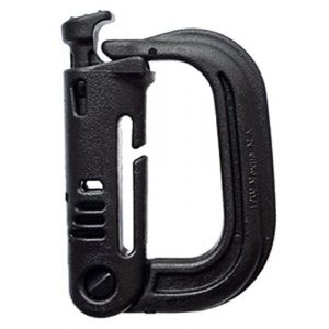 FMS Tactical Carabiner 1 Ravenox Grimloc Locking D Ring   Tactical Gear Including Molle Carabiner   Molle Packs Available Range from 25-1,000   Grimloc Molle with Textured Grip, Self-Purging Ports, and Lightweight Features