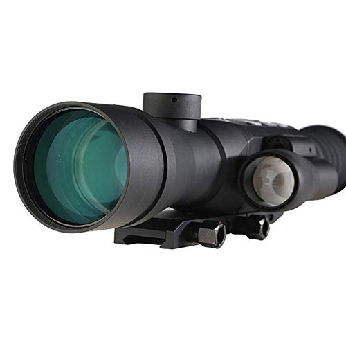 DJym Rifle Scope 7 DJym GPS HD High-Powered Night Vision Monocular, Zoom Digital Video Camera for Outdoor Hunting Rangefinder