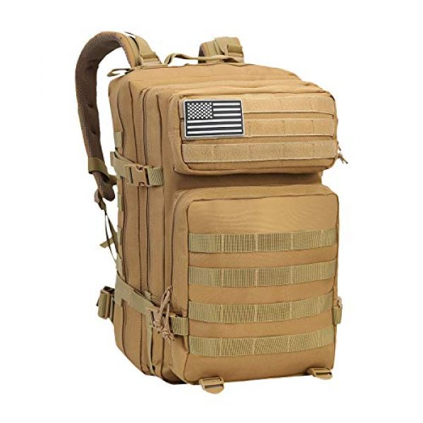 YOMEGO Tactical Backpack 1 YOMEGO Durable Tactical Backpack Travel Bug-Out Bag Great Tactical Survival Gear for Men and Women, 45L