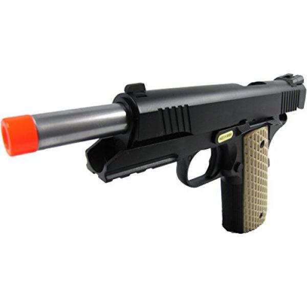 WE Airsoft Pistol 3 WE combat 191 gas blowback full metal - black(Airsoft Gun)