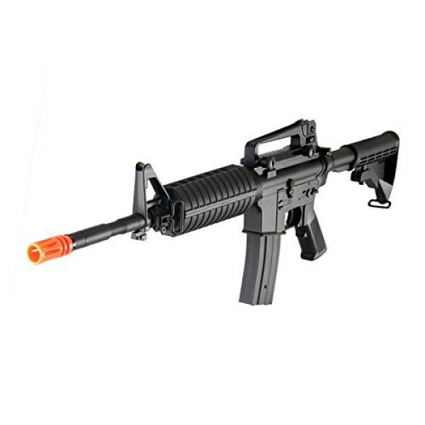 MetalTac Airsoft Rifle 1 MetalTac F6604 Carbine Electric AEG Full Metal Gearbox, Black
