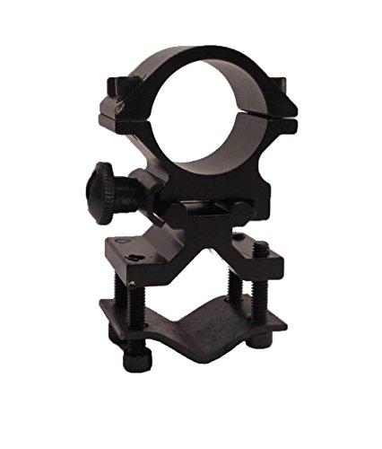 "Tactical Scorpion Gear Rifle Scope Accessory 1 Tactical Scorpion Gear TSG-GMB07A 1"" Aluminum Scope Laser Universal Mount - Black"