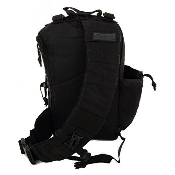 NPUSA Tactical Backpack 5 NPUSA Mens Tactical Gear Molle Hydration Ready Sling Shoulder Backpack Daypack Bag