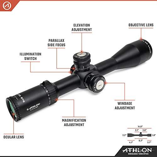 Athlon Optics Rifle Scope 2 Athlon Optics Helos BTR 6-24x50 First Focal Plane Riflescopes
