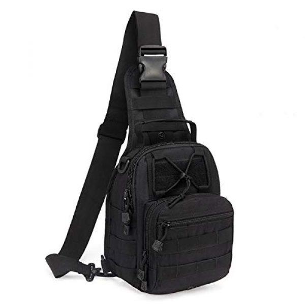 hopopower Tactical Backpack 1 Hopopower Tactical Sling Bag Pack Crossbody Shoulder Backpack Sport Daypack for Men