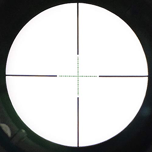 SECOZOOM Rifle Scope 5 SECOZOOM 4-50x75 ED Lens Rifle Scope New Mil Dot Reticle SF Extra-Low Dispersion Glass Optically Flawless Aspheric Apochromatic Lenses Riflescope W 35mm Mounts & Sunshade