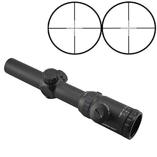 Visionking Rifle Scope 3 Visionking Rifle Scope 1.25-5x26 Mil-dot Rifle Scope Riflescope for Black