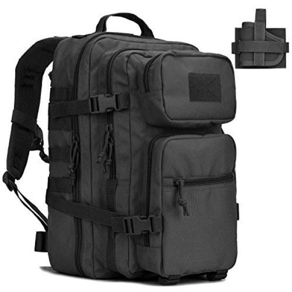 BOW-TAC Tactical Backpack 1 BOW-TAC Military Tactical Backpack Small Assault Pack Army Molle Bag Backpacks