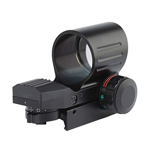 Without Rifle Scope 5 Toy Gun Sight Red dot Sight Magnification Color Black