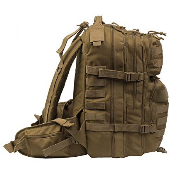 DEPARTED Tactical Backpack 4 DEPARTED Military Tactical Backpack, Assault Backpack, Hiking Bag, Army Molle