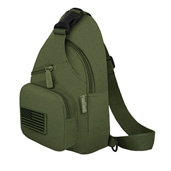 East West U.S.A Tactical Backpack 2 East West U.S.A RT528 Tactical Camouflage Military Sling Chest Utility Pack Bag