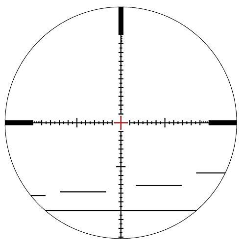 Schmidt & Bender Rifle Scope 4 Schmidt & Bender PM II 5-25x56 34mm FFP 1/4 P4FL-MOA Illumi. Riflescope