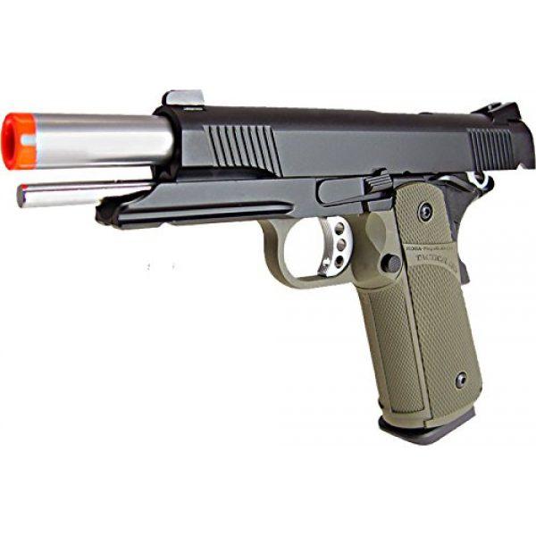 KJW Airsoft Pistol 3 KJW model-615g kp05-s gas/co2 blowback full metal/od green(Airsoft Gun)