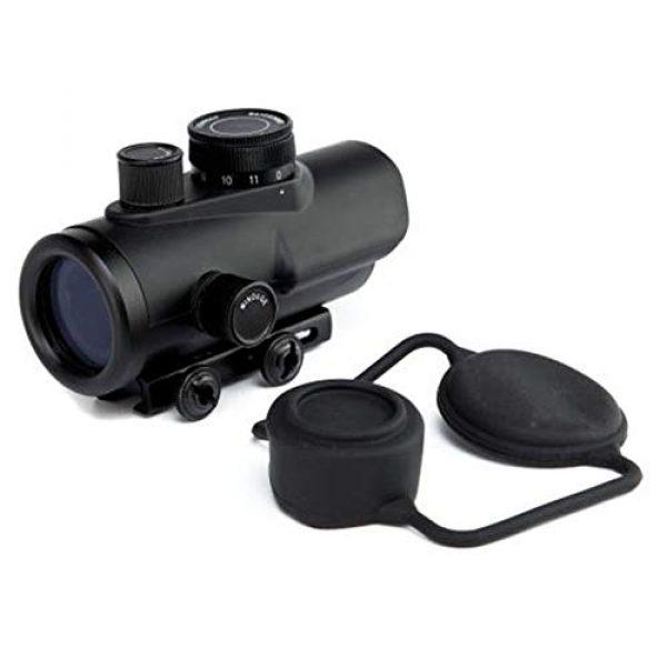 DJym Rifle Scope 2 DJym 30mm Matte Black Finish Red Dot Sight, Scope for Hunting Riflescope
