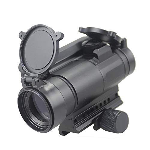 DJym Rifle Scope 7 DJym M4 Non-Magnification Red Film, Red Dot Sight, High Shockproof Waterproof Rifle Scope
