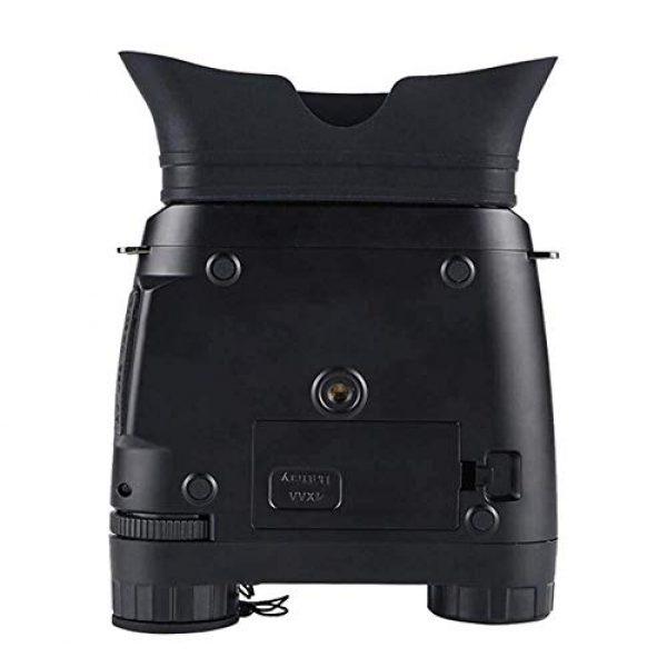JIAJIAFU Rifle Scope 5 Night Vision Binoculars Large-Screen High-Definition Digital Video Camera Black and White Night Vision Dual-Hunting Patrol Security Outdoors JIAJIAFUDR