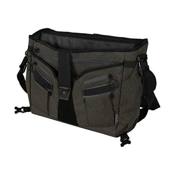 Allen Company Tactical Backpack 6 Allen Company Pride6 Base Tactical Messenger Bag, Courier Bag, Shoulder Bag, with Laptop and Conceal Carry Pocket, Internal Pockets, Tightening System, Green/Black