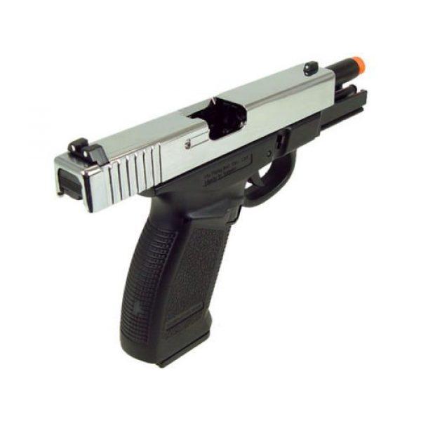 HFC Airsoft Pistol 3 HFC dark hawk full metal gun gas powered blowback airsoft pistol with case(Airsoft Gun)