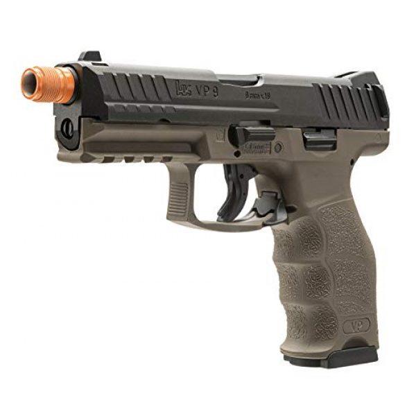 Elite Force Airsoft Pistol 2 Elite Force HK Heckler & Koch VP9 GBB Blowback 6mm BB Pistol Airsoft Gun, FDE, Multi, One Size (2275025)