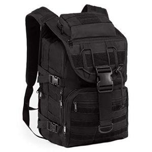 Supersun Tactical Backpack 1 Supersun Tactical Military Backpack Molle - 35L Tactical Backpack Laptop Rucksack Survival Bag Bugout Assault Pack