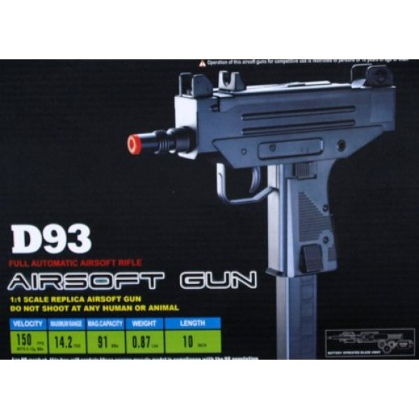 Well Airsoft Pistol 3 Well d93 airsoft full size uzi style auto electric pistol(Airsoft Gun)